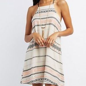 Jelly C casual print dress
